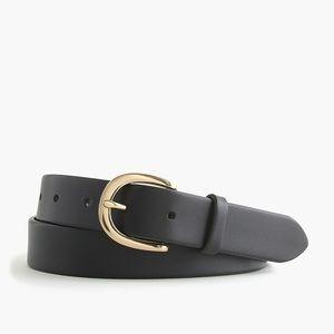 J Crew Classic Leather Belt